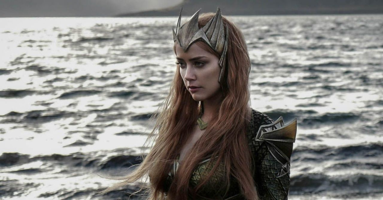 Justice League Snyder Cut Amber Heard Releases New Video Of Struggles With Mera Costume