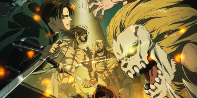Attack on Titan Season 4 Poster Visual