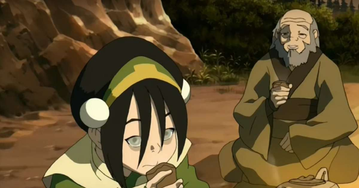 Avatar The Last Airbender Cosplay Iroh Toph