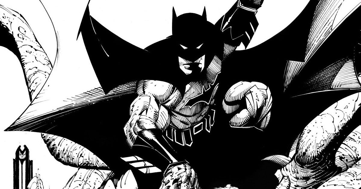 batman black and white 1 cover 2020