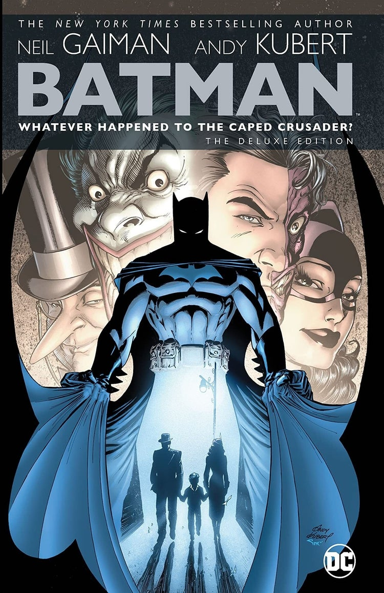Batman Whatever Happened to the Caped Crusader Deluxe Edition