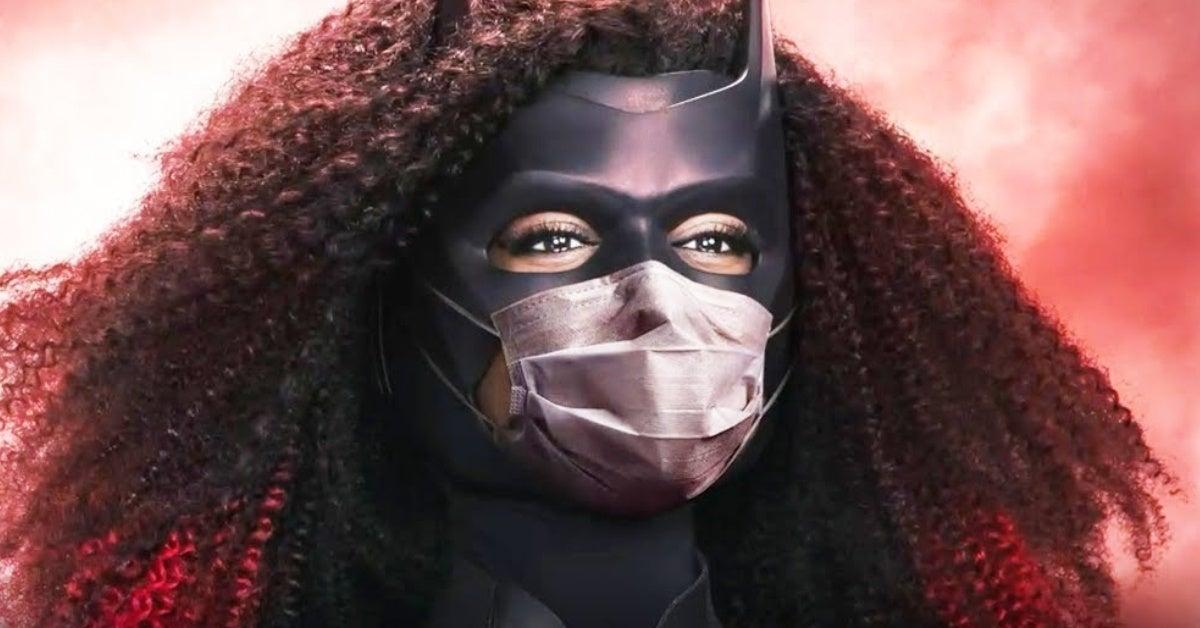 batwoman javicia leslie face mask poster