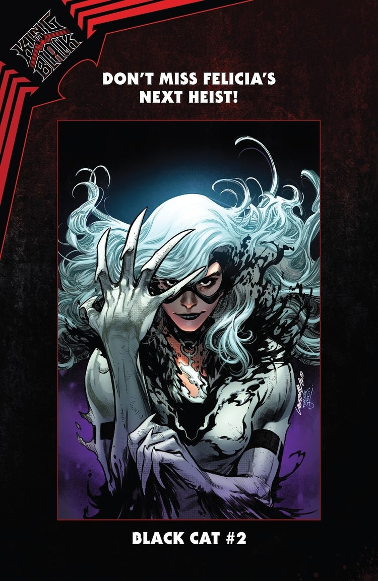 black cat 2 symbiote suit preview