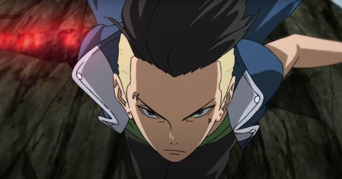 Boruto Naruto Kawaki Anime Vessel Arc Trailer