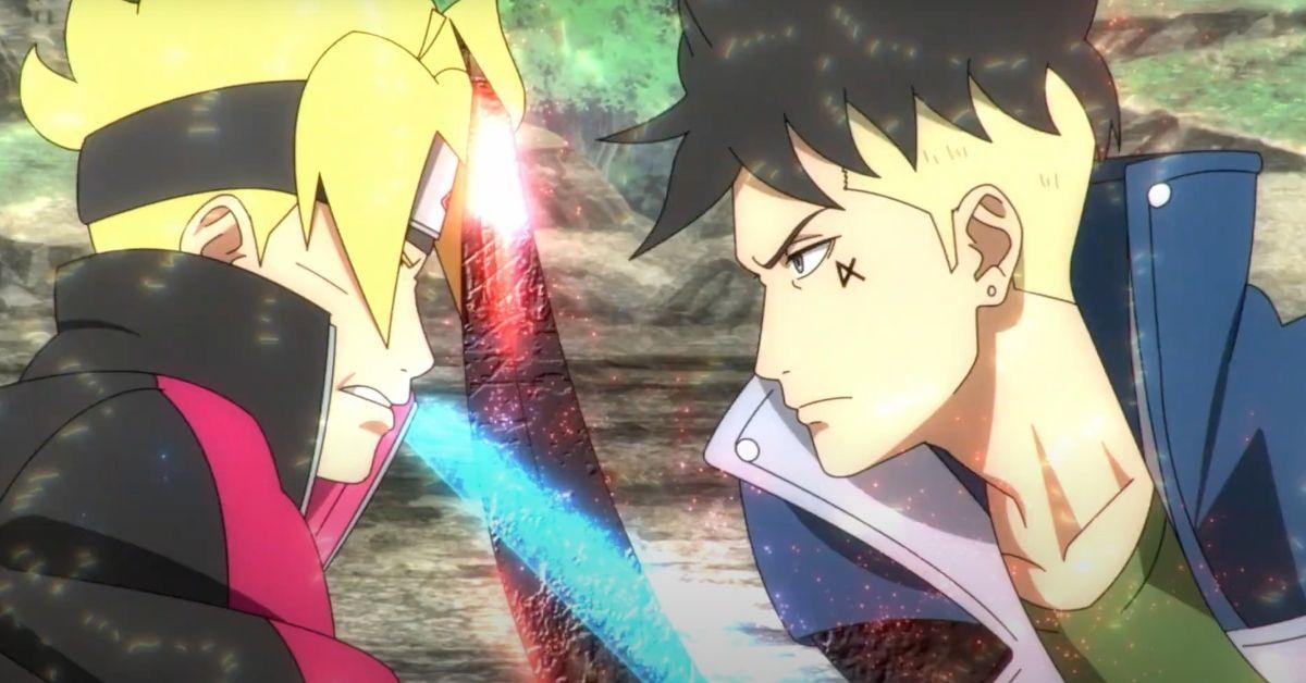 Boruto Naruto Kawaki Vessel Arc Anime Trailer