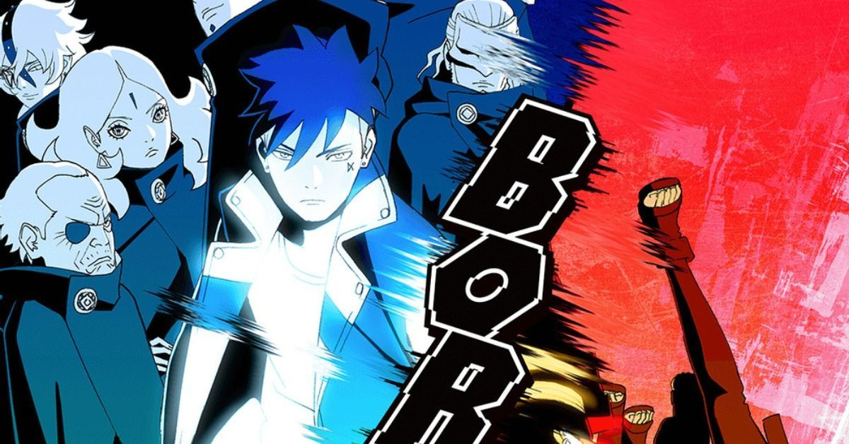 Boruto Naruto Vessel Arc Anime Key Visual