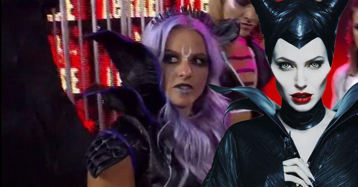 Candice LeRae Disney Maleficent Gear NXT TakeOver WarGames