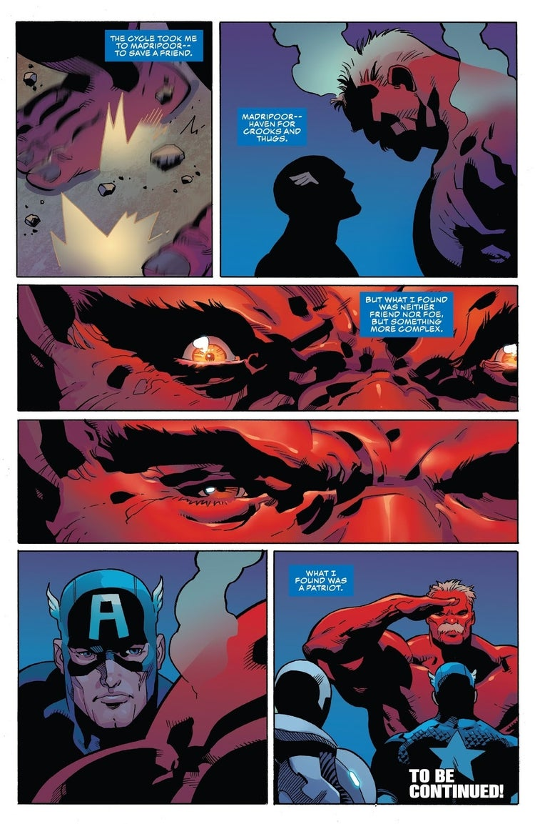 captain america 26 red hulk 2