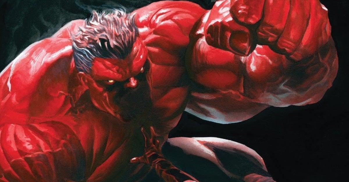captain america 26 red hulk cover