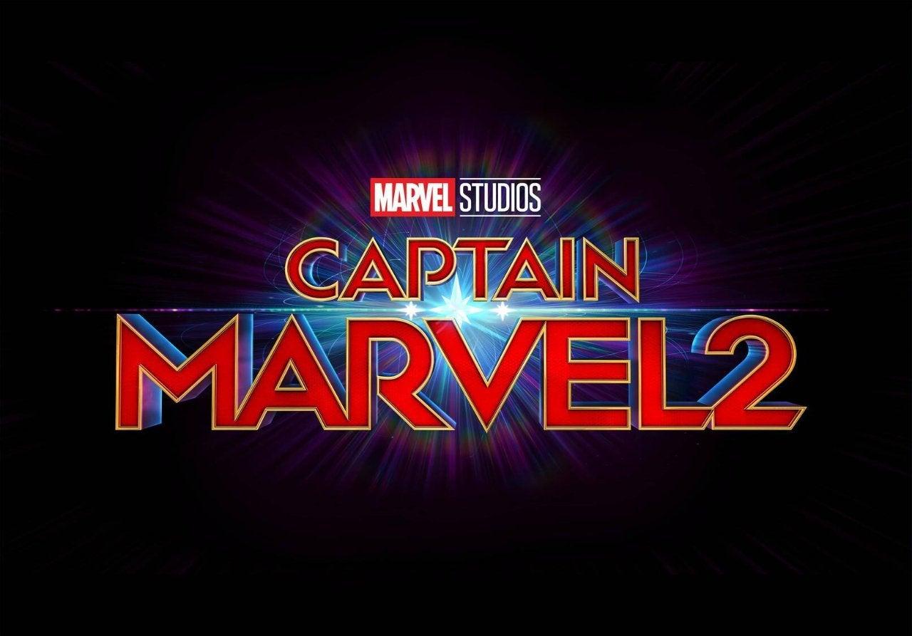 captain marvel 2 movie carol danvers logo