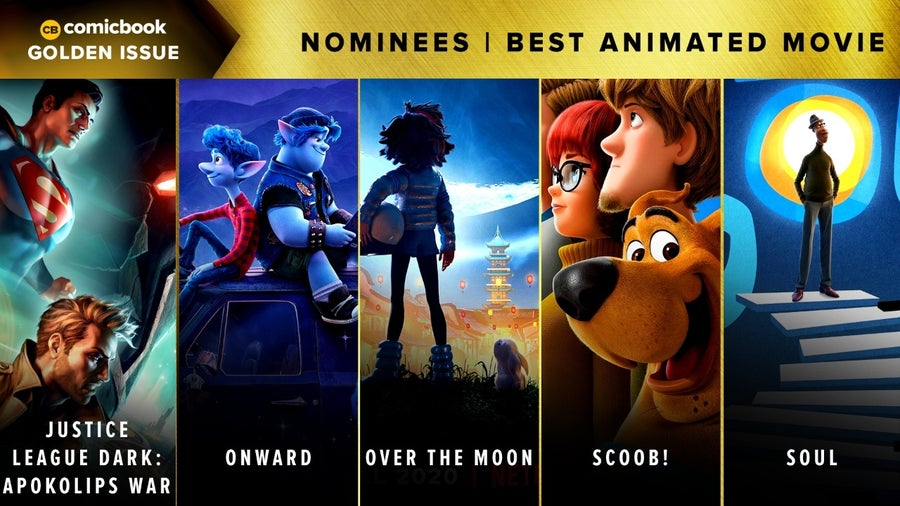 CB Golden Issues 2020 Nominees Best Animated Movie