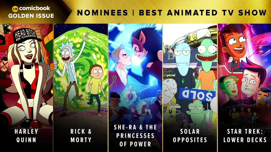 CB Golden Issues 2020 Nominees Best Animated TV Show