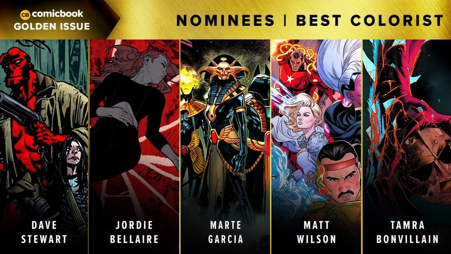 CB Golden Issues 2020 Nominees Best Colorist
