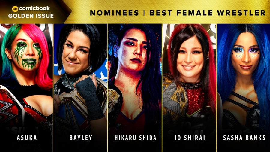 CB Golden Issues 2020 Nominees Best Female Wrestler