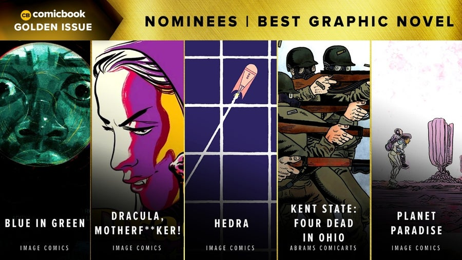 CB Golden Issues 2020 Nominees Best Graphic Novel
