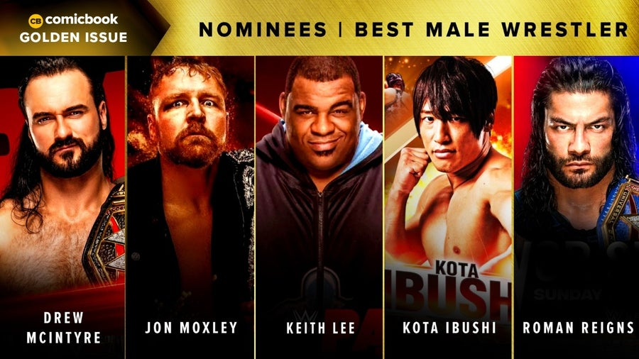 CB Golden Issues 2020 Nominees Best Male Wrestler