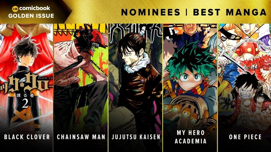 CB Golden Issues 2020 Nominees Best Manga