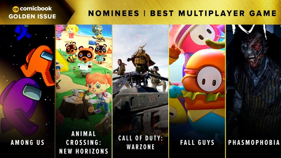 CB Golden Issues 2020 Nominees Best Multiplayer Game