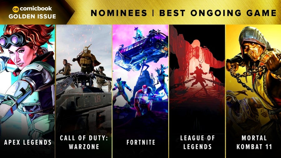 CB Golden Issues 2020 Nominees Best Ongoing Game