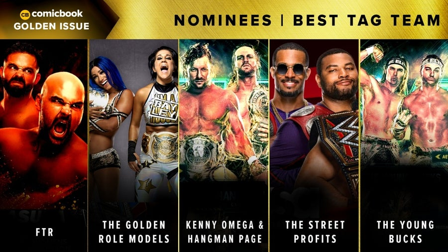 CB Golden Issues 2020 Nominees Best Tag Team