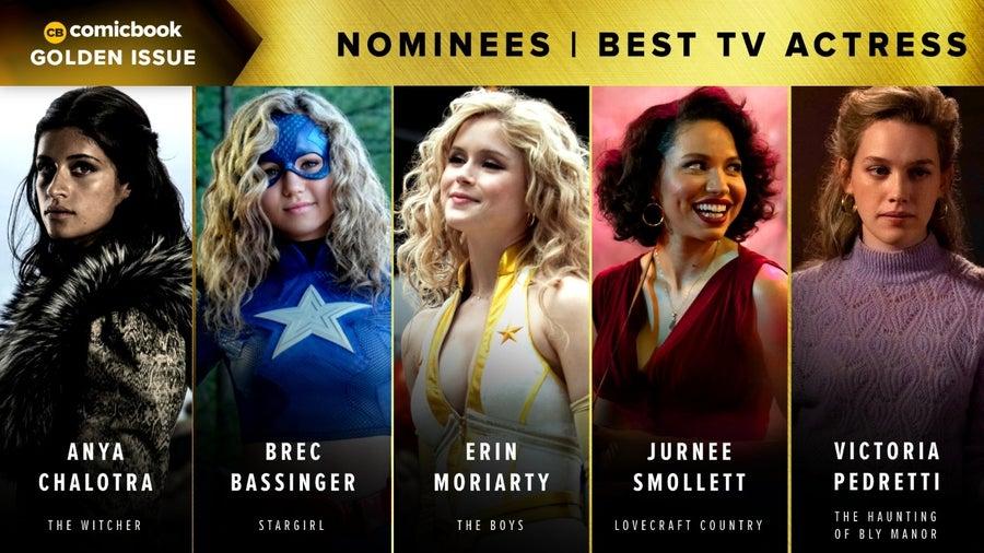 CB Golden Issues 2020 Nominees Best TV Actress