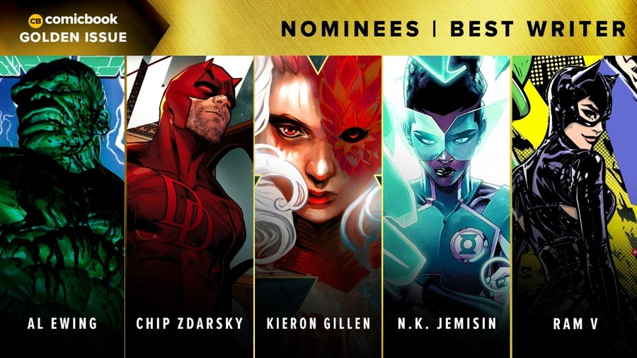 CB Golden Issues 2020 Nominees Best Writer