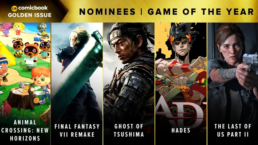 CB Golden Issues 2020 Nominees Game of the Year