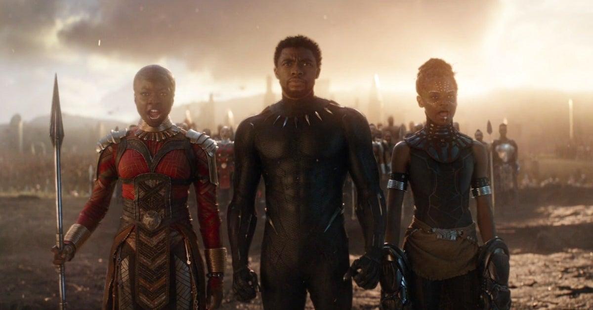 Chadwick Boseman Black Panther Avengers Endgame