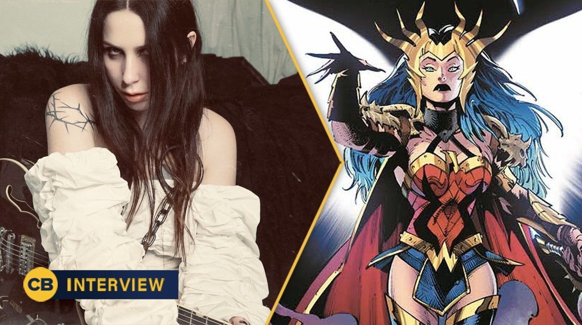 chelsea wolfe wonder woman dc comics death metal