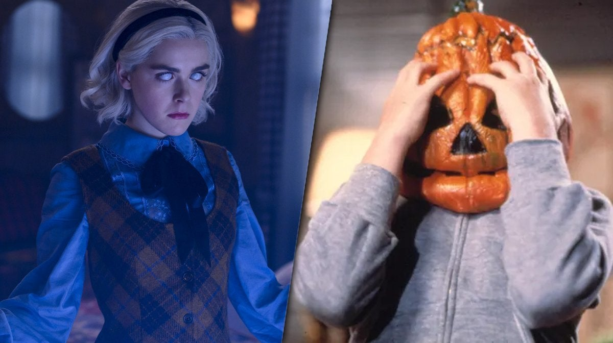 chilling adventures of sabrina halloween iii easter egg header