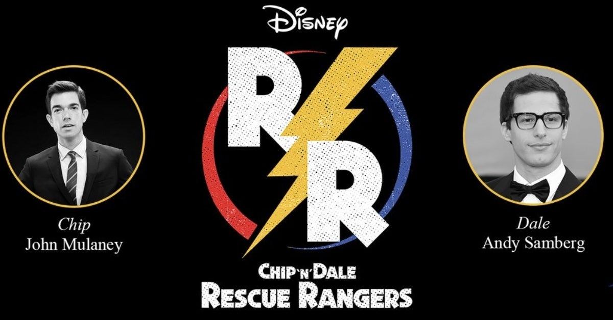 chip n dale rescue rangers john mulaney andy samberg