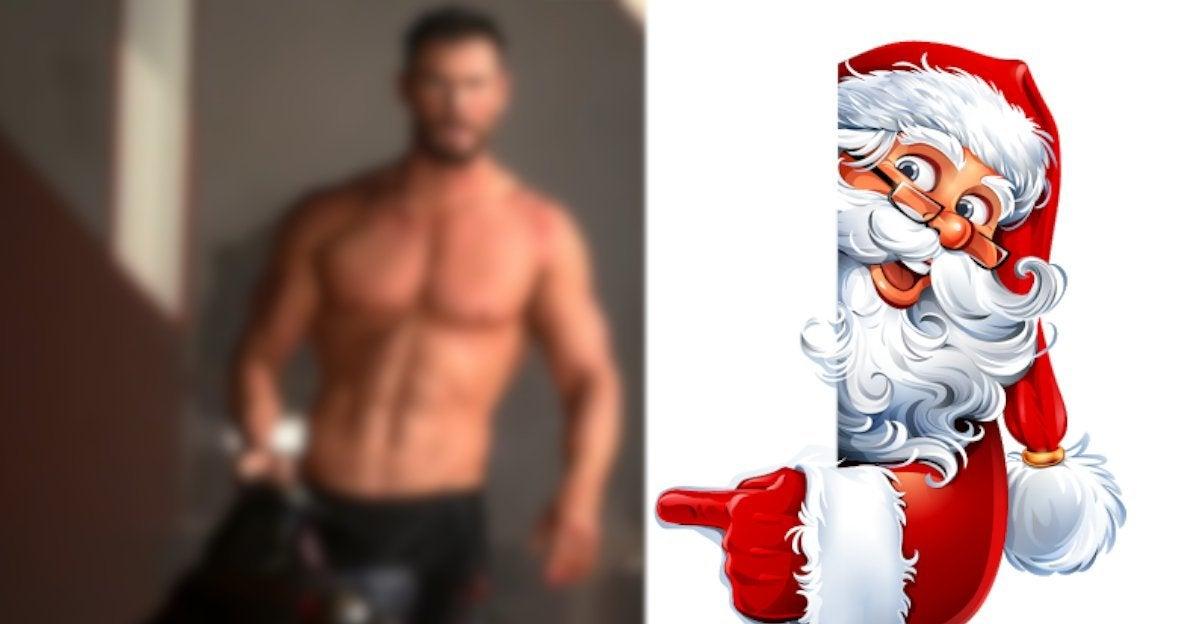Chris Hemsworth Christmas 2020 Photo Thor abs Muscles Elsa Pataky