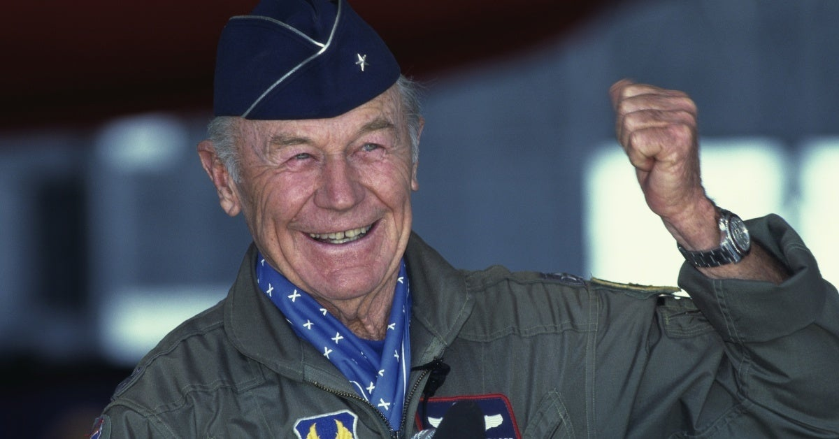 chuck yeager getty images