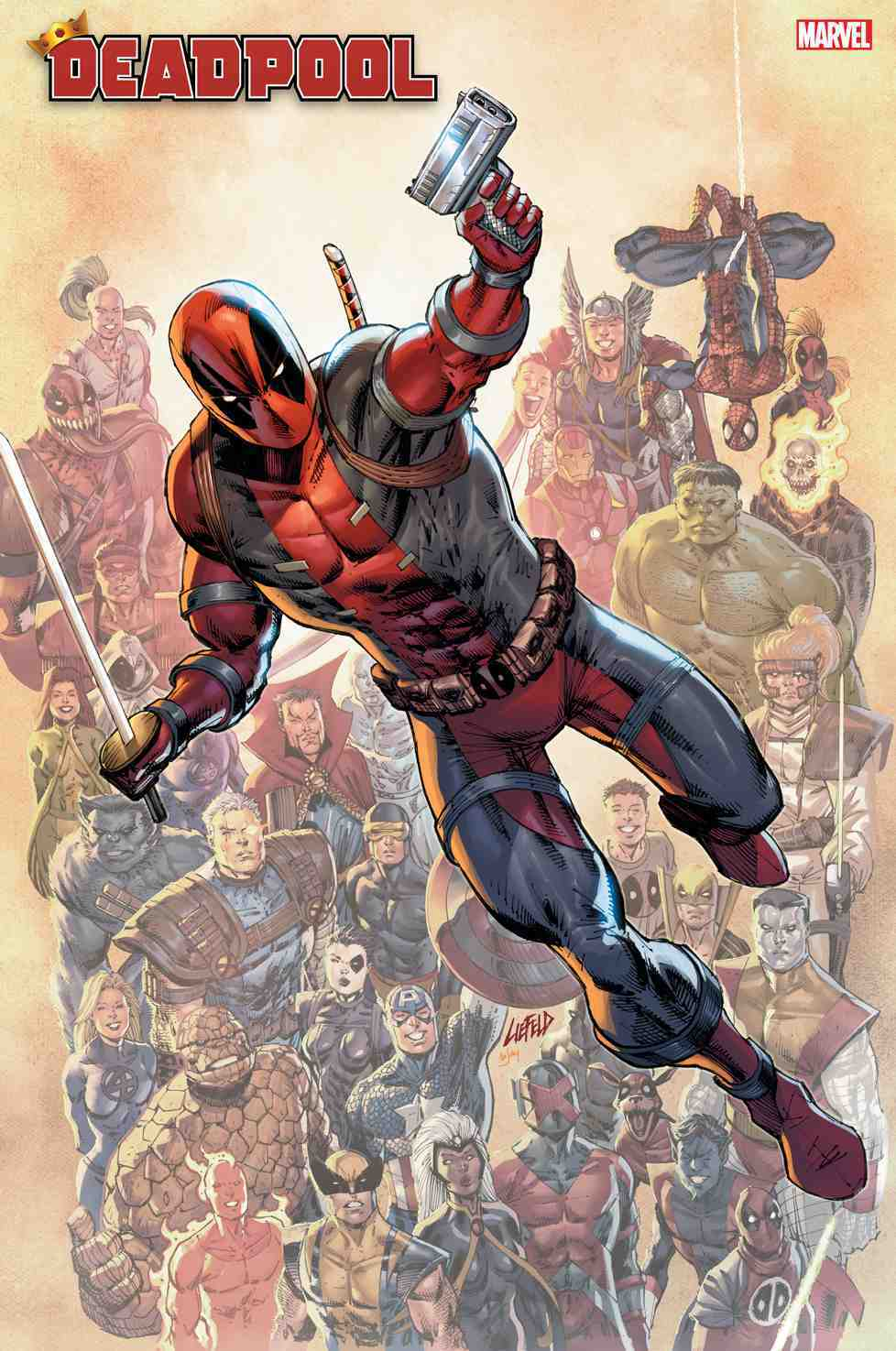 Deadpool nerdy 30 rob liefeld cover