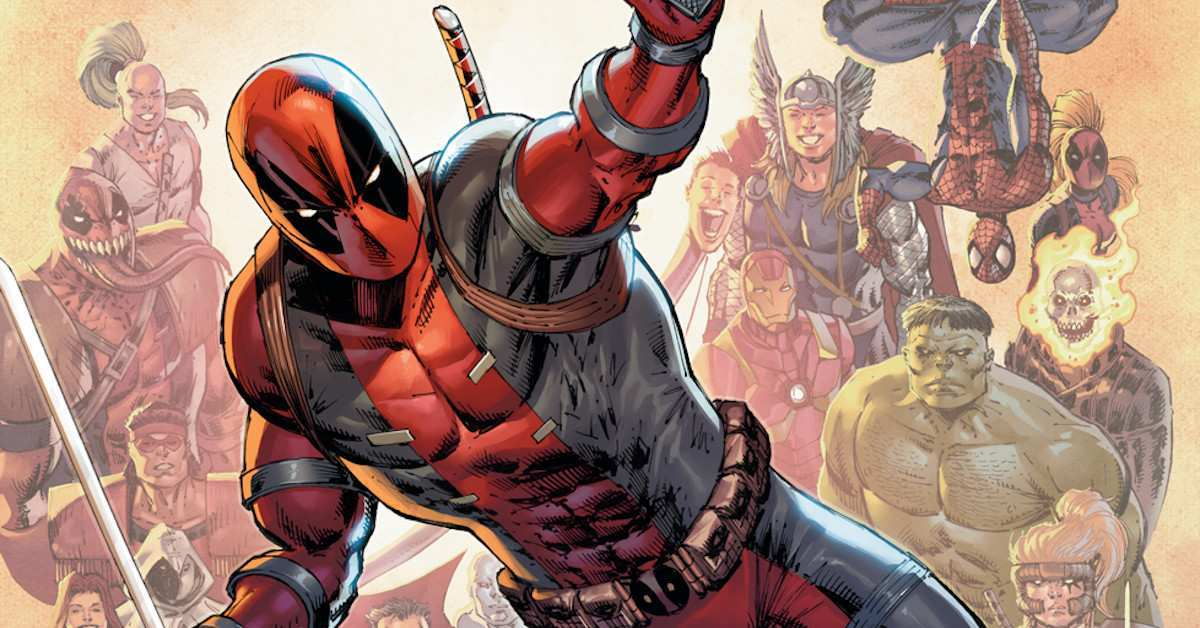 Deadpool Neredy 30 Rob Liefeld