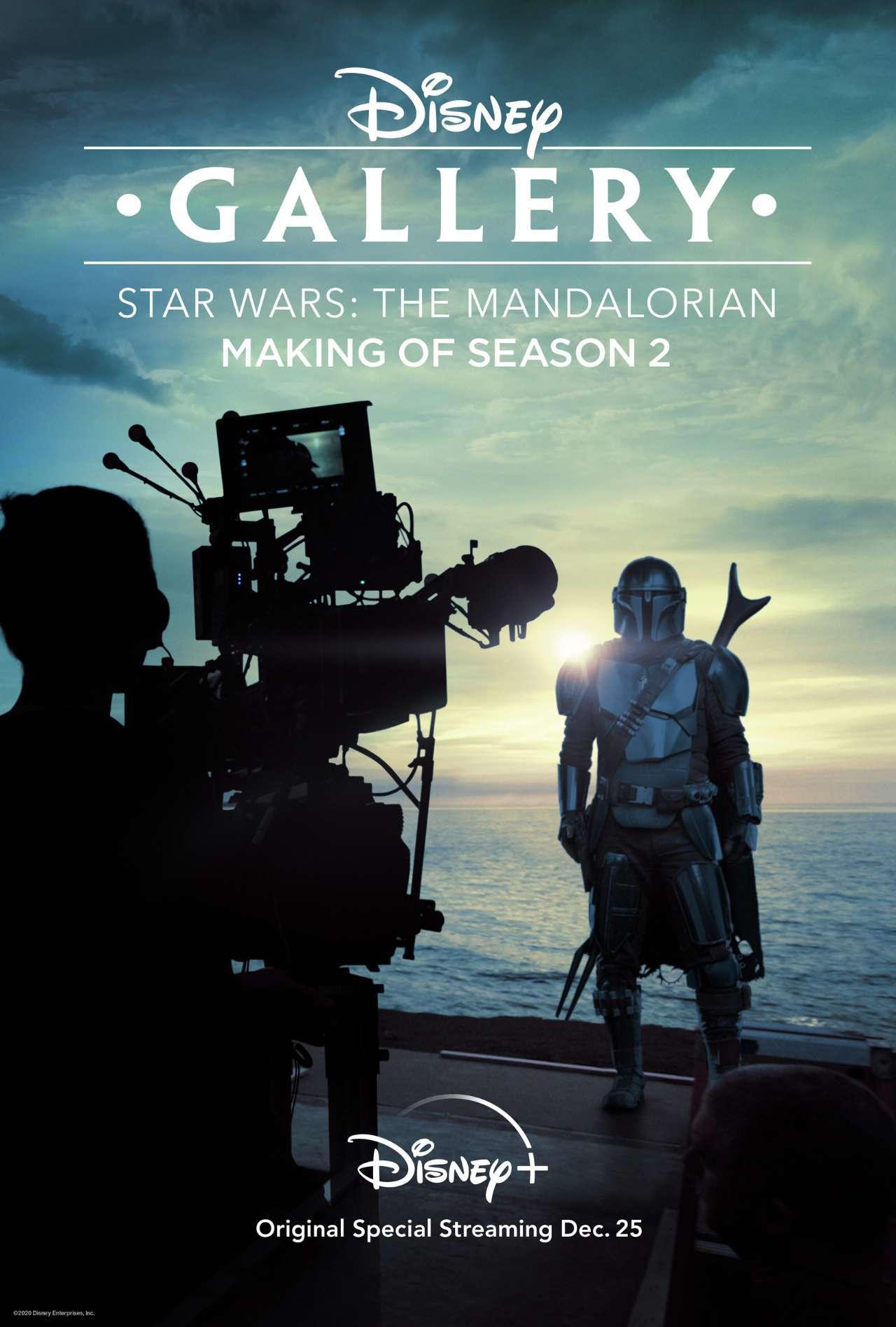 Disney Gallery The Mandalorian Making of Season Two Key Art