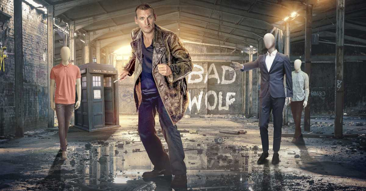 Doctor Who Ninth Doctor Christopher Eccleston