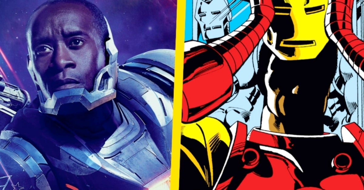 Don Cheadle War Machine Iron Man COMICBOOKCOM