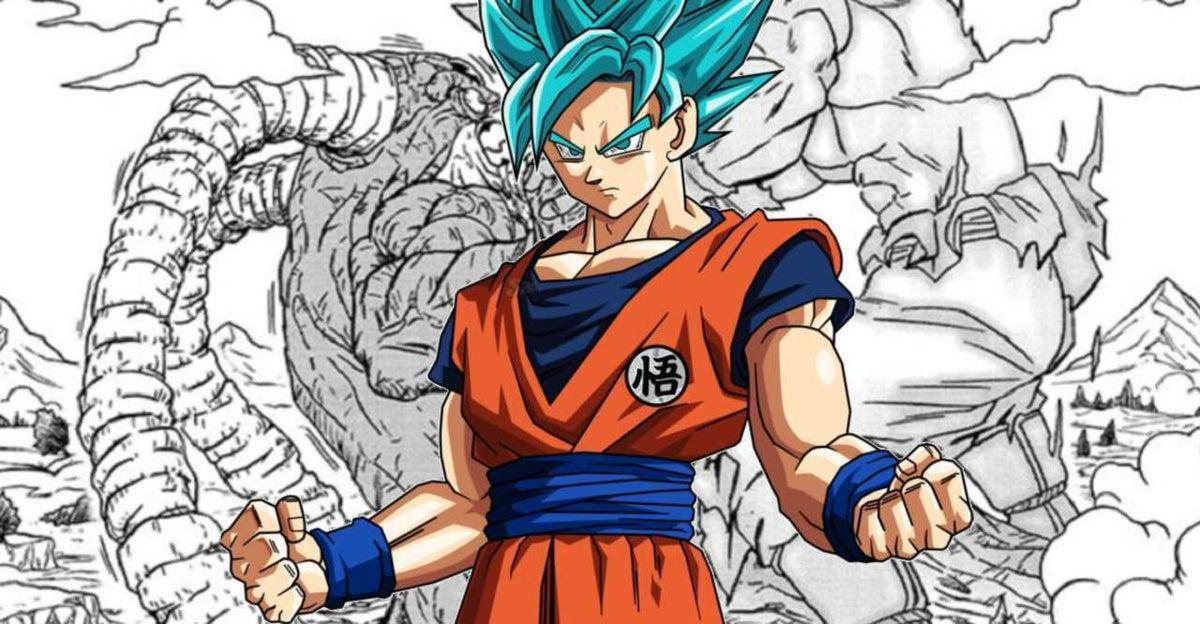 Dragon Ball Goku New Transformation