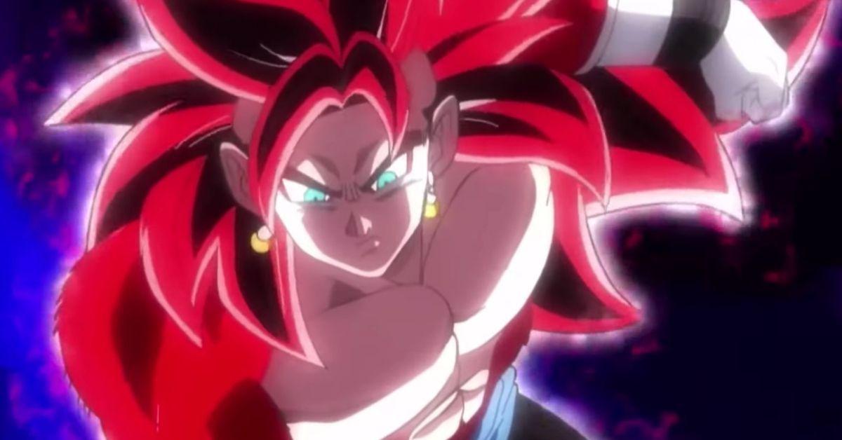 Dragon Ball Heroes Big Bang Mission Episode 9 Vegito SSJ4