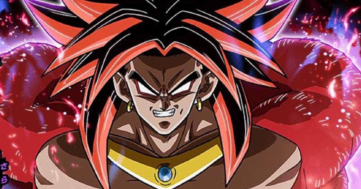 Dragon Ball Heroes Key Visual Broly