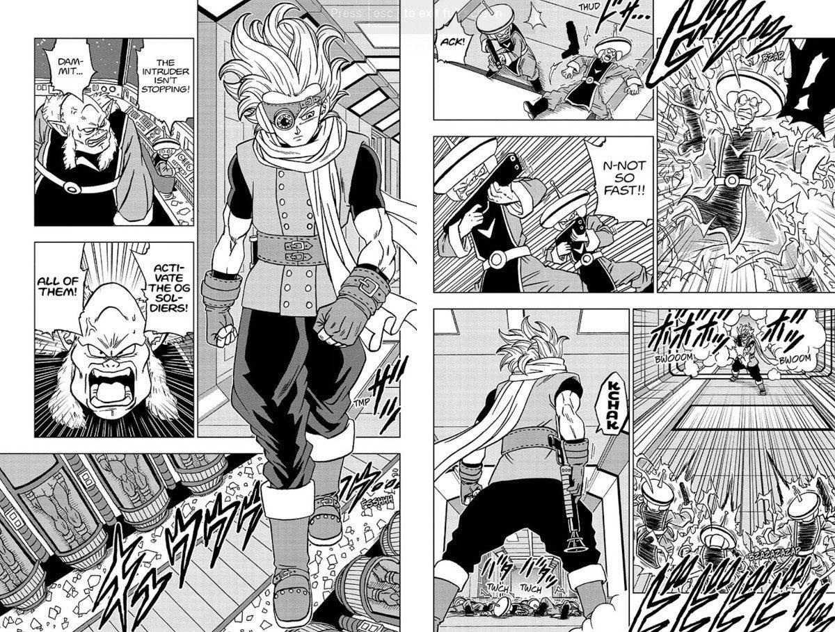 Dragon Ball Manga 67 Spoilers Who is Granola Explained