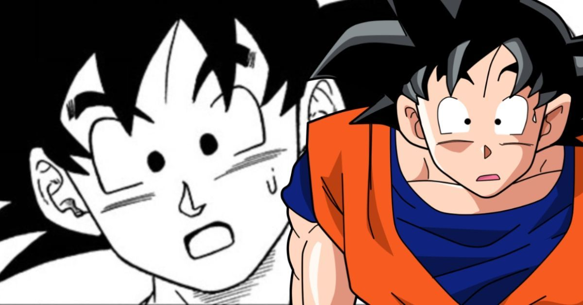 Dragon Ball Super Goku Shocked Moro Finale Manga
