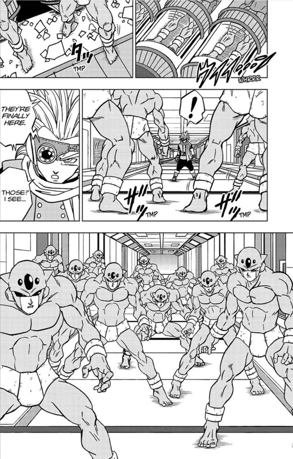 Dragon Ball Super Manga 67 Spoilers Granola vs Androids 73