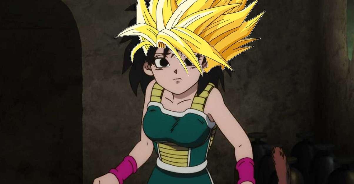 Dragon Ball Super Super Saiyan Gine