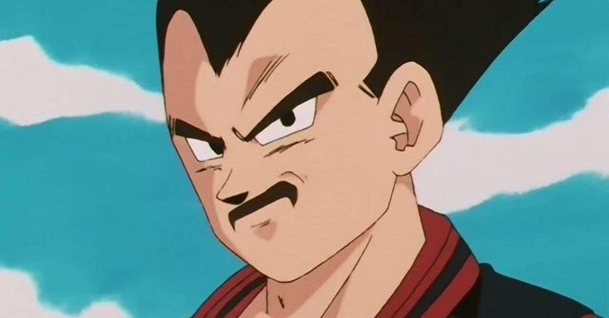 Dragon Ball Vegeta Moustache