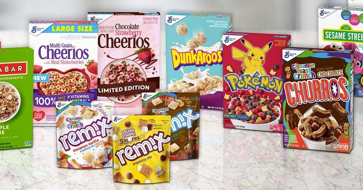 dunkaroos pokemon churros cereal