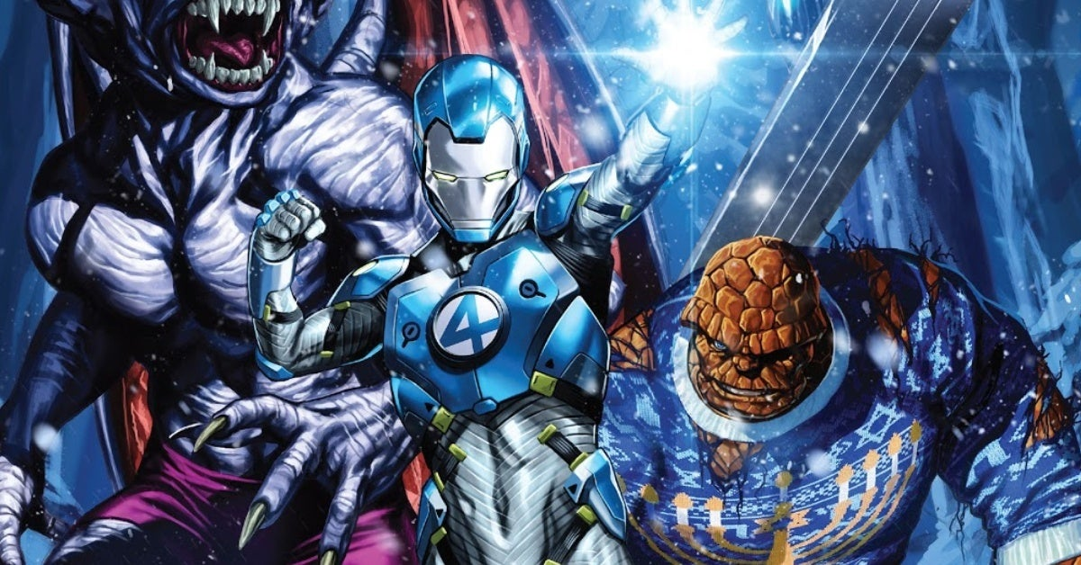 fantastic four 27 franklin richards iron man header