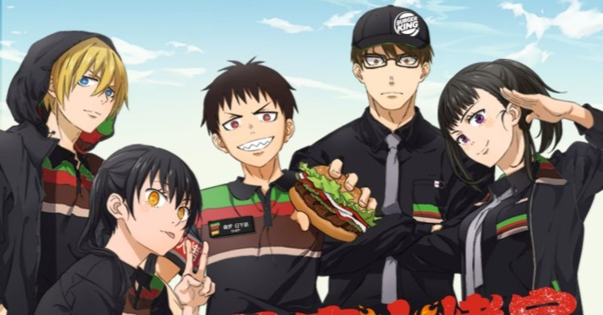 Fire Force Burger King