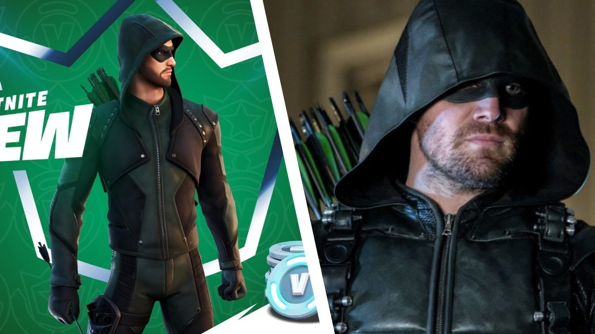 fortnite green arrow stephen amell react new cropped hed